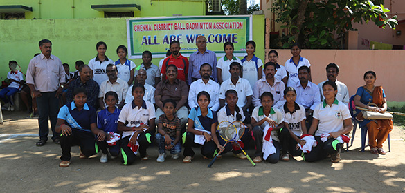 The Chennai District Sub Junior selection for Girls and Boys were finished today