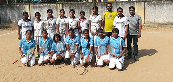 The Sub Junior selection trial for Chennai District team (both Girls and Boys) were finished today