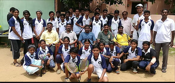 CDBBA picking up a great team for Chennai District Sub Junior level (both Girls and Boys) by a selection trial today