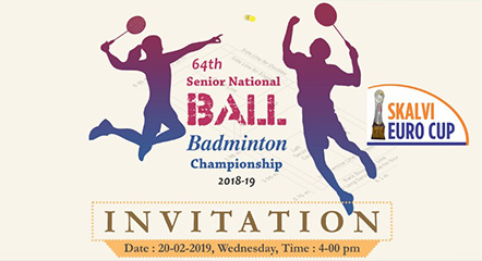 64th Senior National Ball Badminton Championship for Men & Women