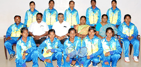 The SGFI Nationals Ball Badminton tournament has been conducted at Nellore, Andrapradesh today.