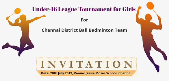 ICF Colony Ball Badminton club is planning to conduct its first Ball Badminton that is exclusively for Girls