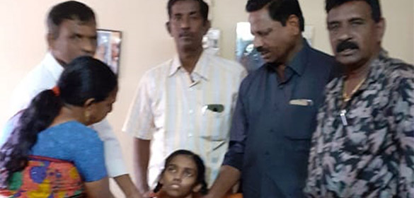 TNBBA Contributes 50,000/- INR for Charulatha's further treatment